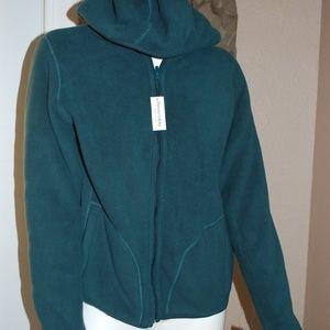 NWT Laura Scott Forest Green Reversible Jacket